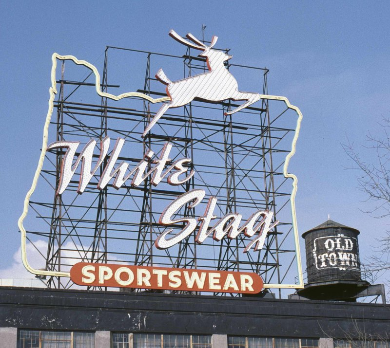 White_Stag_sign_(day),_1985.jpg