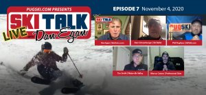 SkiTalk Live with Dan Egan, Episode 7: Marcus Caston, Tim Smith, Alan Schoenberger, and Phil Pugliese (Nov. 4, 2020, 48 min).