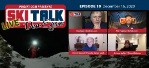 SkiTalk Live with Dan Egan, Episode 10: Dennis Gaspari, Schone Malliet, Phil Pugliese (Dec. 16, 2020, 51 min).