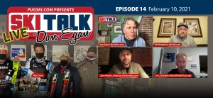 SkiTalk Live with Dan Egan, Episode 14: Jon J Franklin, Robert Cone, Jens-Martin Johnsrud, Phil Pugliese (Feb 10, 2021, 48 min).