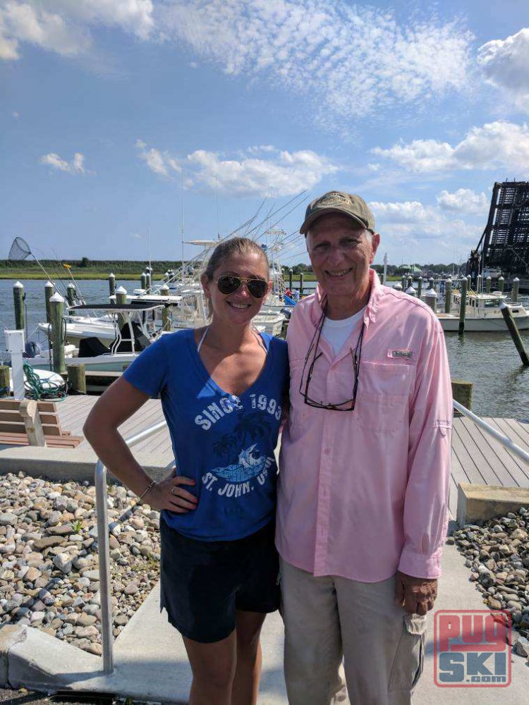 Father Daughter Fishing Trip 2017